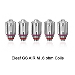 Five (5) Eleaf GS Air Replacement Coils For the Tance Max Pod System