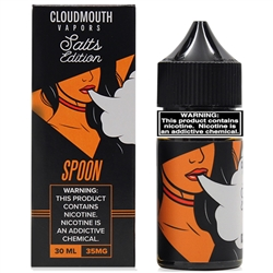 30ml of Cloudmouth Salts Spoon E Liquid - Hand Made in the USA!